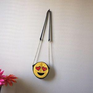 Emoji crossbody purse